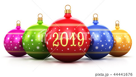New Year 2019 holiday celebration concept 44441676