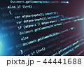 コード 暗号 プログラミングのイラスト 44441688