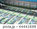 印刷 プリント 紙幣のイラスト 44441698