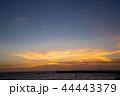 マジックアワー 夕焼け 夕暮れの写真 44443379