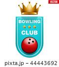 ボウリング ボーリング ベクタのイラスト 44443692