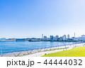 秋晴れの横浜 山下公園と氷川丸の風景 44444032