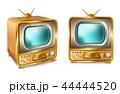 TV テレビ レトロのイラスト 44444520