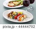 ハルーミチーズと野菜のベジタリアンケバブ 44444702