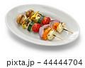 ハルーミチーズと野菜のベジタリアンケバブ 44444704