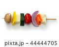 ハルーミチーズと野菜のベジタリアンケバブ 44444705