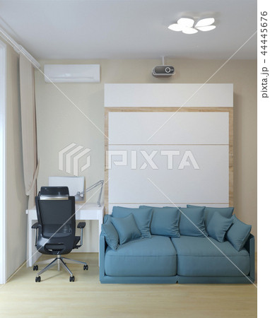 sofa and working place 44445676