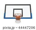バスケ バスケットボール ボールのイラスト 44447206