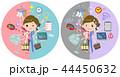 女性 医者 外科医のイラスト 44450632