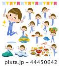 surgical operation blue wear women_food festival 44450642