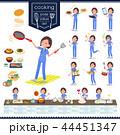 女性 医者 料理のイラスト 44451347