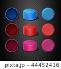 蓋 プラスチック プラスティックのイラスト 44452416