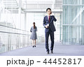 ビジネスマン スマートフォン ビジネスの写真 44452817