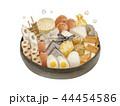 おでん 鍋 湯気 44454586