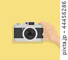 カメラ 写真機 手のイラスト 44456286
