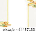 金箔 雲 和柄のイラスト 44457133