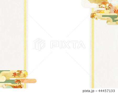 和-和柄-和風-背景-金箔-雲-霞-のし紙-ご祝儀袋 44457133