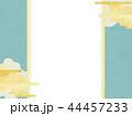 金箔 雲 和柄のイラスト 44457233