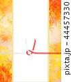 紅葉 秋 和紙のイラスト 44457330