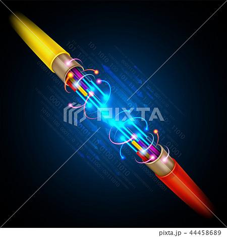 Fiber optic cable 44458689