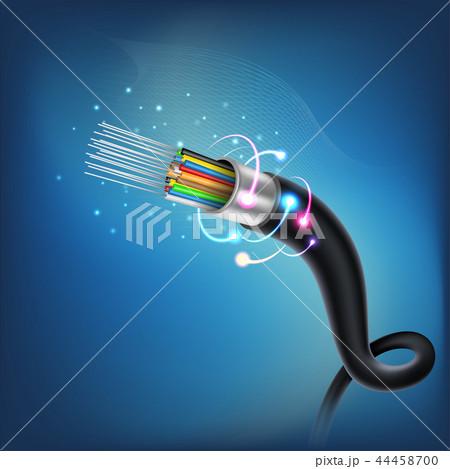 Fiber optic cable 44458700