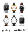 Classic watches isolated on white vector set 44462326