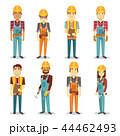 施工業者 ビルダー 建築業者のイラスト 44462493