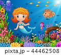 水中 漫画 幼いのイラスト 44462508