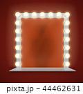 鏡 ライト 光のイラスト 44462631