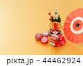 門松 正月飾り 縁起物の写真 44462924