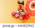 門松 正月飾り 縁起物の写真 44462942