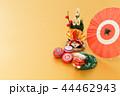 門松 飾り 正月飾りの写真 44462943