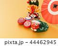 門松 正月飾り 縁起物の写真 44462945