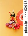 門松 正月飾り 縁起物の写真 44462948