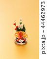 門松 飾り 正月飾りの写真 44462973
