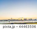 レインボーブリッジ 海 風景の写真 44463506