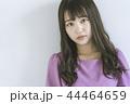 女性 若い 女の子の写真 44464659