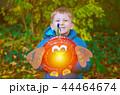 sankt martin day, a boy defocused and lantern, soft focus 44464674
