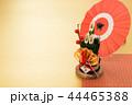 門松 飾り 正月飾りの写真 44465388