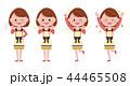主婦 表情 やる気・喜び 44465508