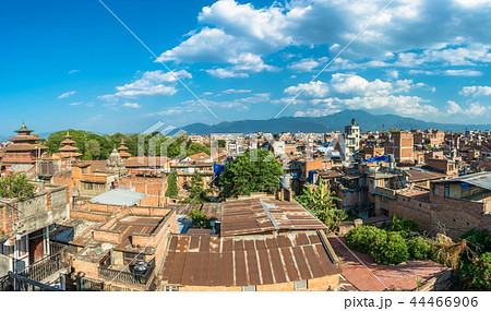 Panorama of Kathmandu, Nepal. 44466906