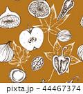 原材料 材料 食材のイラスト 44467374