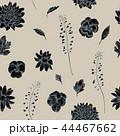 パンジー 花 パターンのイラスト 44467662
