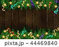 クリスマス デコレーション 装飾のイラスト 44469840