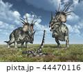 恐竜 スティラコサウルス 爬虫類のイラスト 44470116