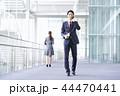 ビジネスマン スマートフォン ビジネスの写真 44470441