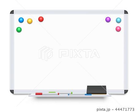 education or presentation whiteboardのイラスト素材 44471773 pixta
