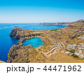 View on the Mediterranean Sea from Lindos Ruins 44471962