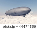 Airship over the clouds 44474569