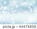 冬 ベクトル ゆきのイラスト 44474838